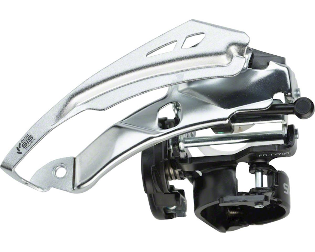 Shimano Tourney FD-TY700 3x7/8 Front Derailleur (28.6/31.8/34.9mm) (Top-Swing)