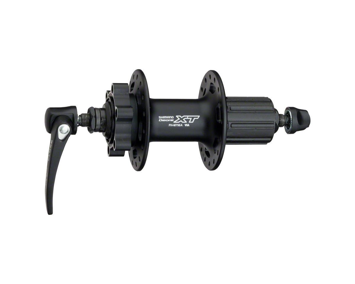 Shimano XT FH-M756A Rear Disc Hub (32h) (QRx 130mm) (6-Bolt)
