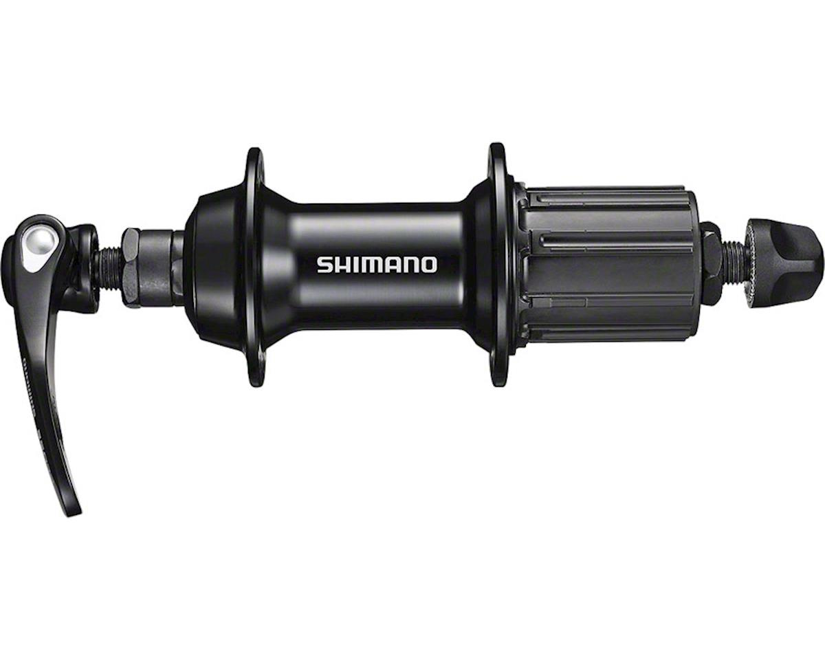 Shimano FH-RS400 Rear Hub (Black) (36h) (QRx 130mm)