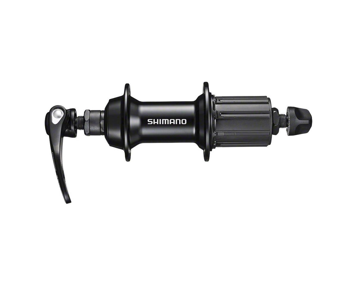 Shimano FH-RS400 Rear Hub (Black) (36h) (QRx 130mm)