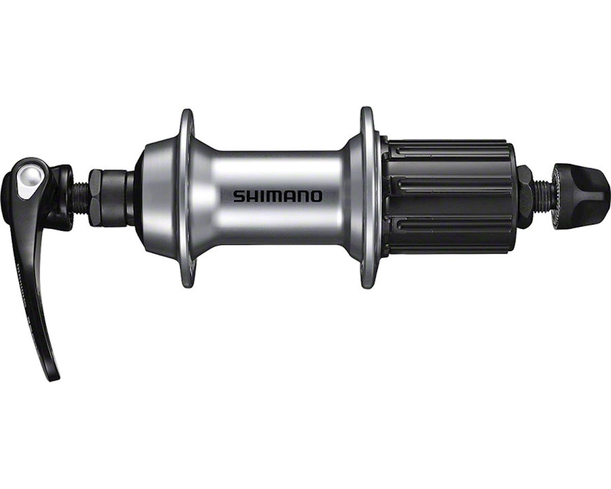 Shimano FH-RS400 Rear Hub (Silver) (36h) (QRx 130mm)