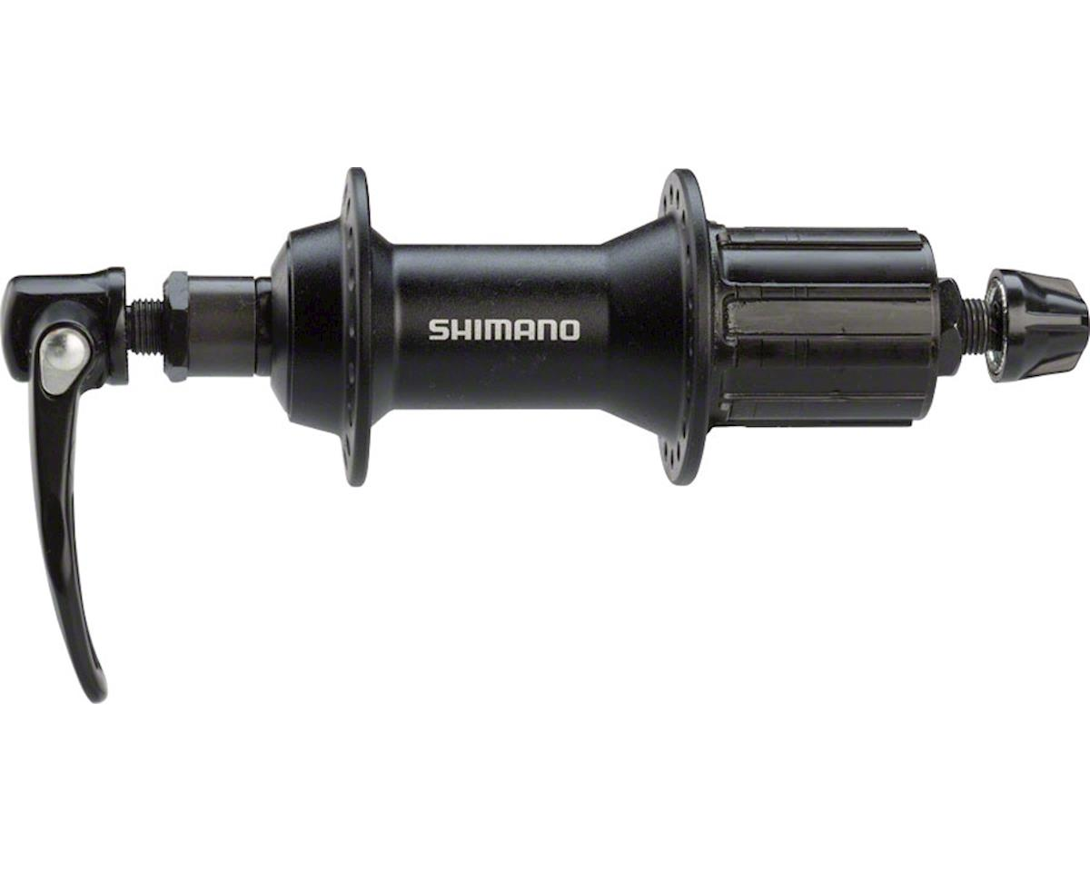 Shimano Alivio FH-T4000 Rear Hub (Black) (36h) (QRx 135mm)