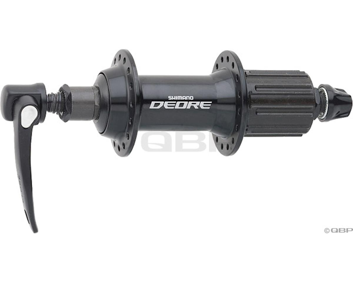 Shimano Deore FH-T610 Rear Hub (Black) (36h) (QRx 135mm)