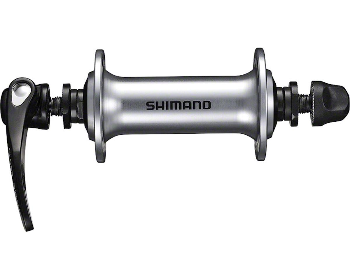 Shimano HB-RS400 Front Hub (Silver) (36h) (QRx100mm)