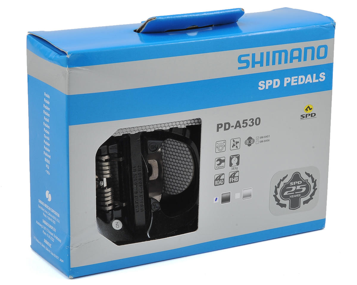 Shimano PD-A530 One Sided SPD Pedal with Platform