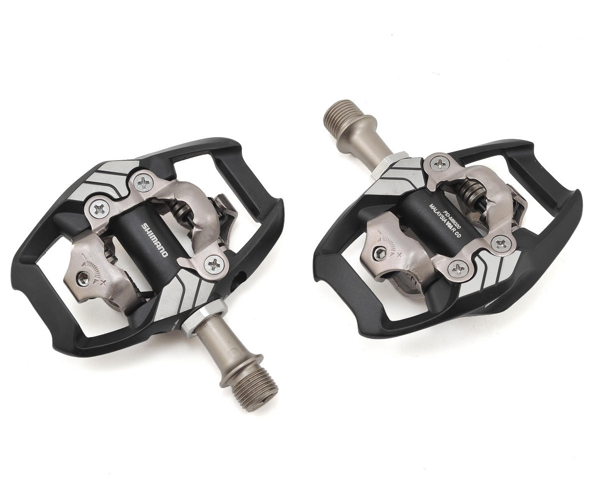 Image 1 for Shimano Deore XT M8020 Trail SPD Pedals PD-M8020 w/ Cleats