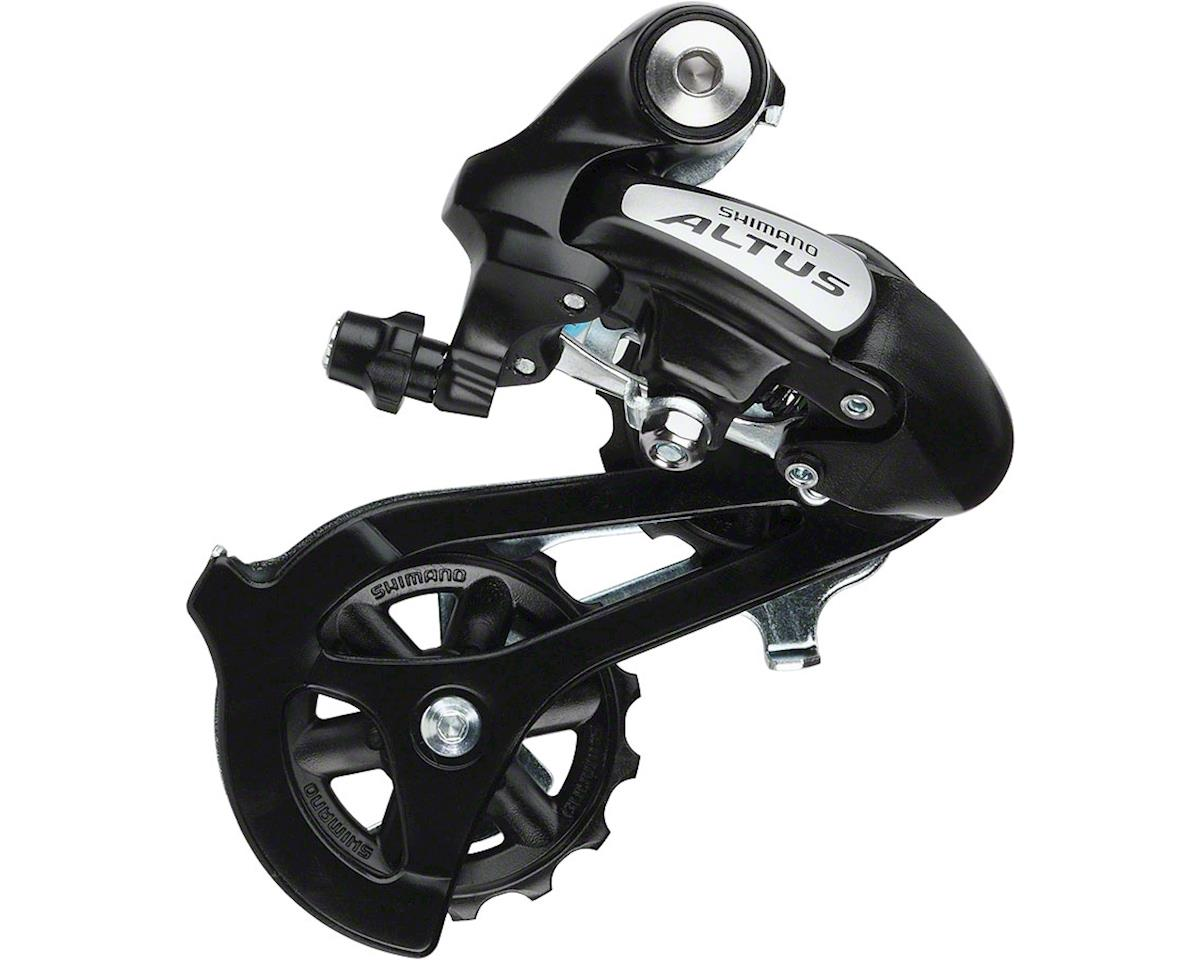Black New Shimano Acera RD-M360-SGS 7//8-Speed MTB Rear Derailleur Long Cage