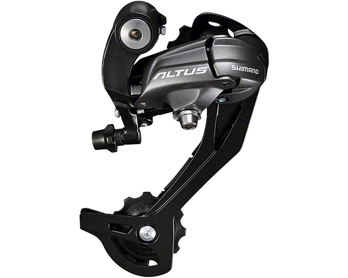 Shimano Altus RD-M370-SGS 9-Speed Rear Derailleur (Black) (Long Cage)