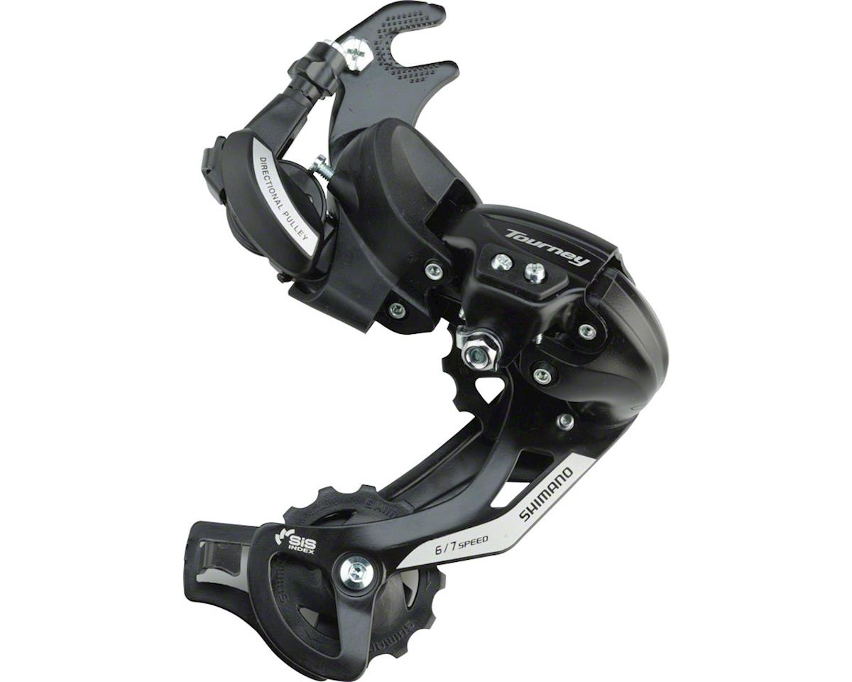 Shimano Tourney RD-TY500 6/7-Speed Rear Derailleur w/ Frame Hanger (Long Cage)
