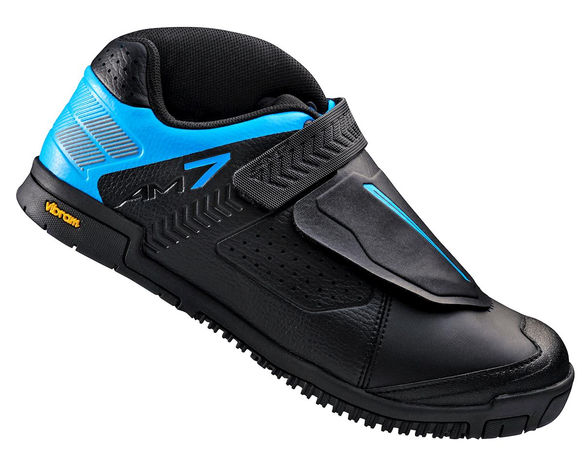 Shimano SH-AM7 Bicycle Shoe (Black/Blue) (45)