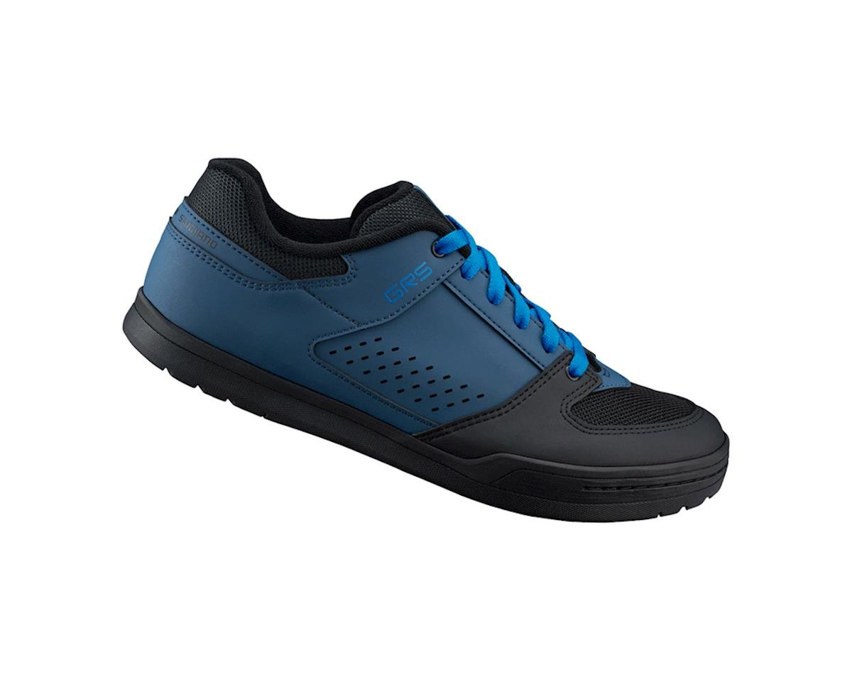 Shimano SH-GR5 Flat Pedal Bicycle Shoes (Navy) (34)