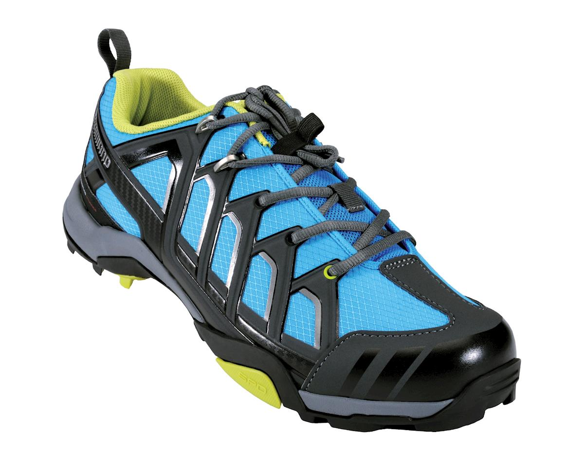 Image 1 for Shimano MT34 Cycling Shoes (Blue)