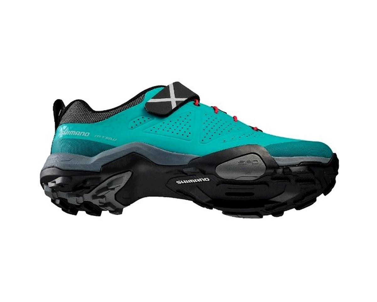 Image 3 for Shimano Women's MT5W Trail Shoes - Special Buy (Green)