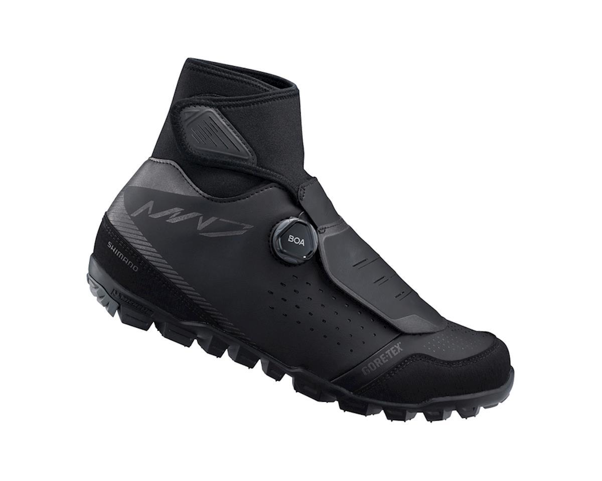 Image 1 for Shimano SH-MW701 Mountain Bike Shoes (Black) (44)