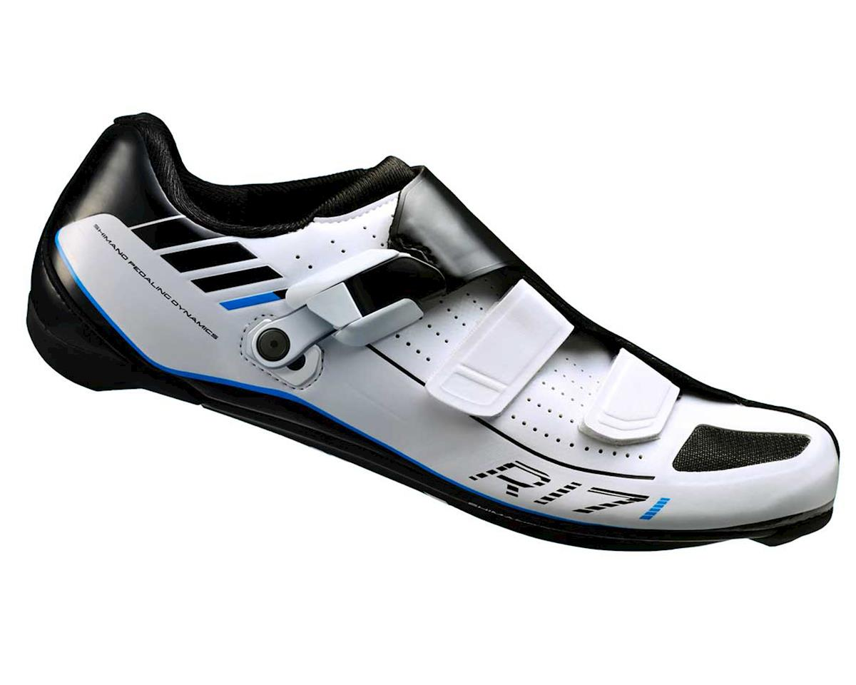 Shimano SH-R171 Road Cycling Shoes (White) (45)