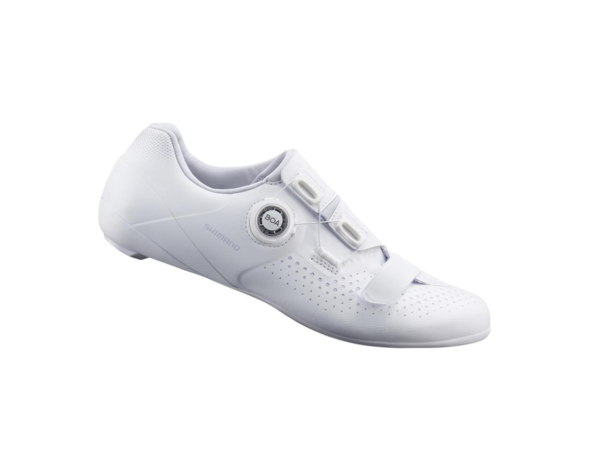 Shimano SH-RC500 Women's Road Bike Shoes (White) (43)