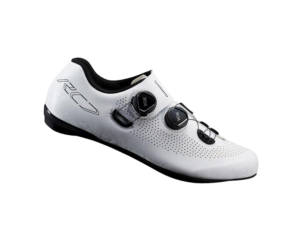 Shimano SH-RC701 Road Bike Shoes (White) (39)