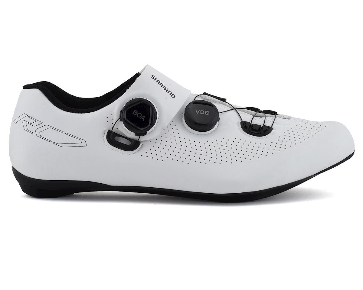 Shimano SH-RC701 Road Bike Shoes (White) (45)