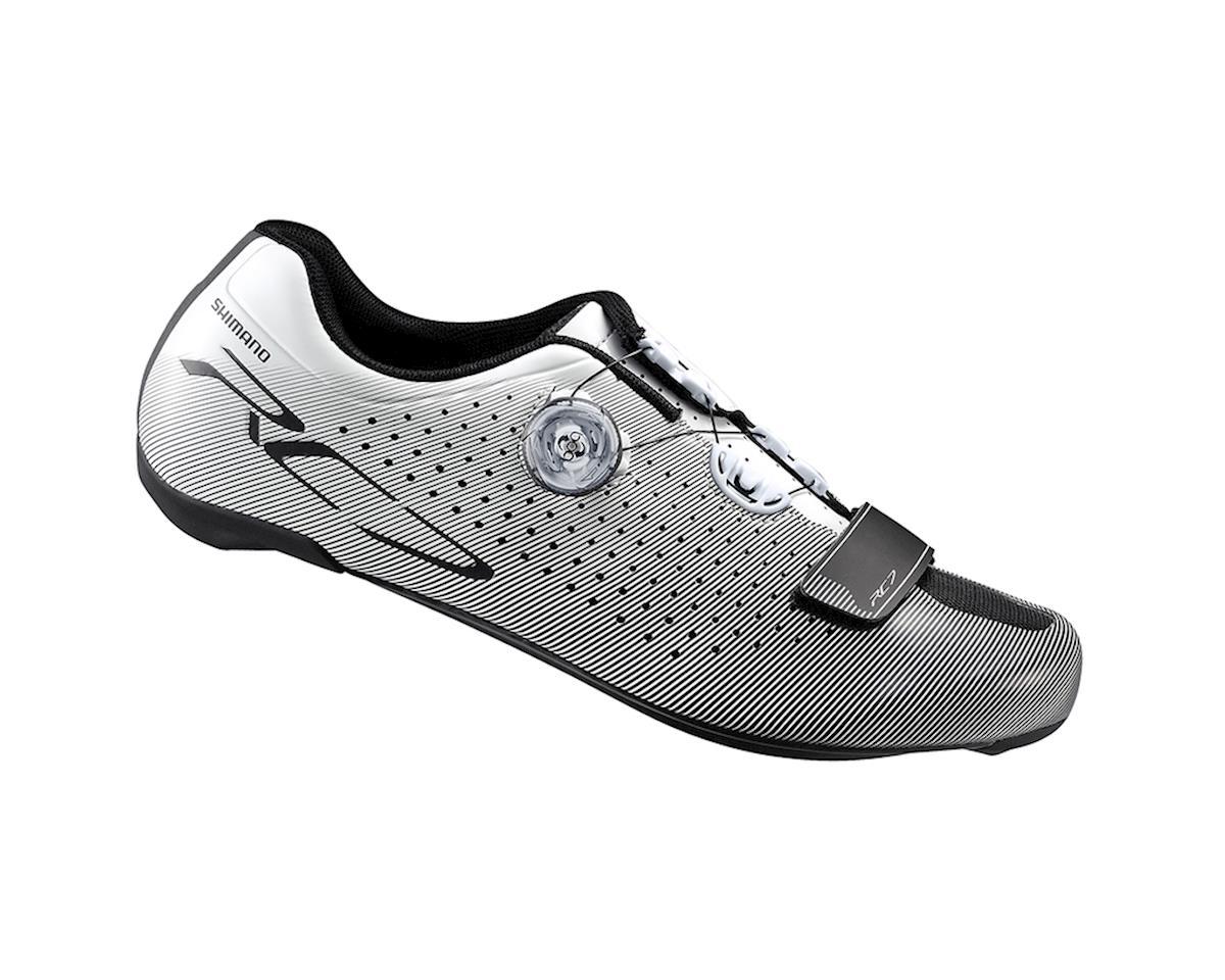 Shimano SH-RC7 Road Shoes (White) (48)