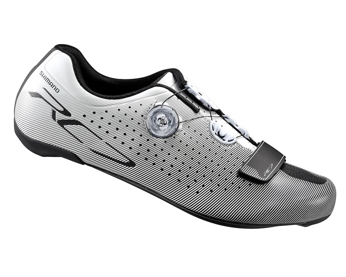 Shimano SH-RC7 Road Cycling Shoes (White) (46)