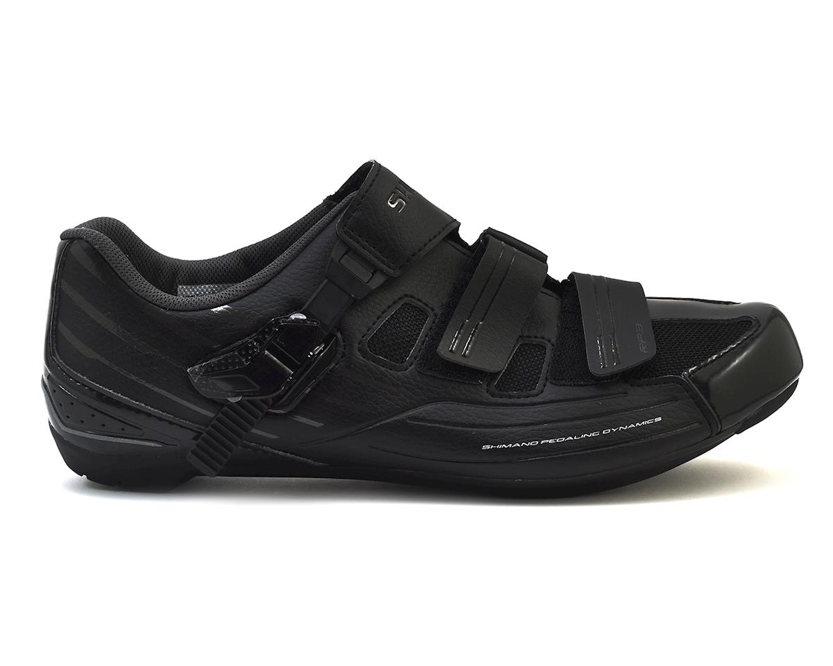 Shimano SH-RP3 Road Bike Shoes (Black) (45)