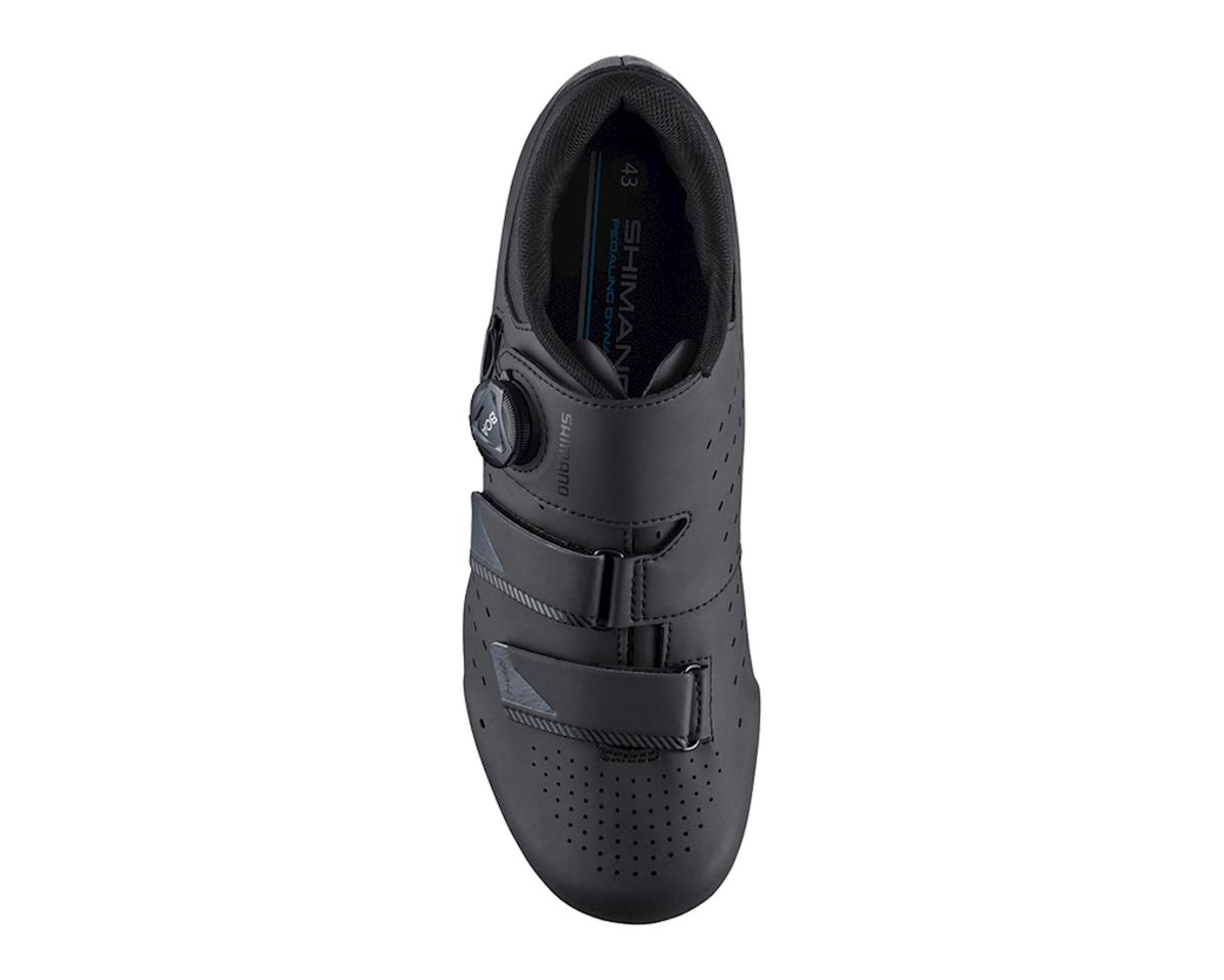 Image 2 for Shimano SH-RP400 Road Bike Shoes (Black) (Wide) (42 Wide)