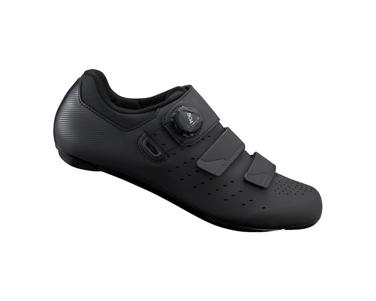 Image 1 for Shimano SH-RP400 Road Bike Shoes (Black) (Wide) (44 Wide)