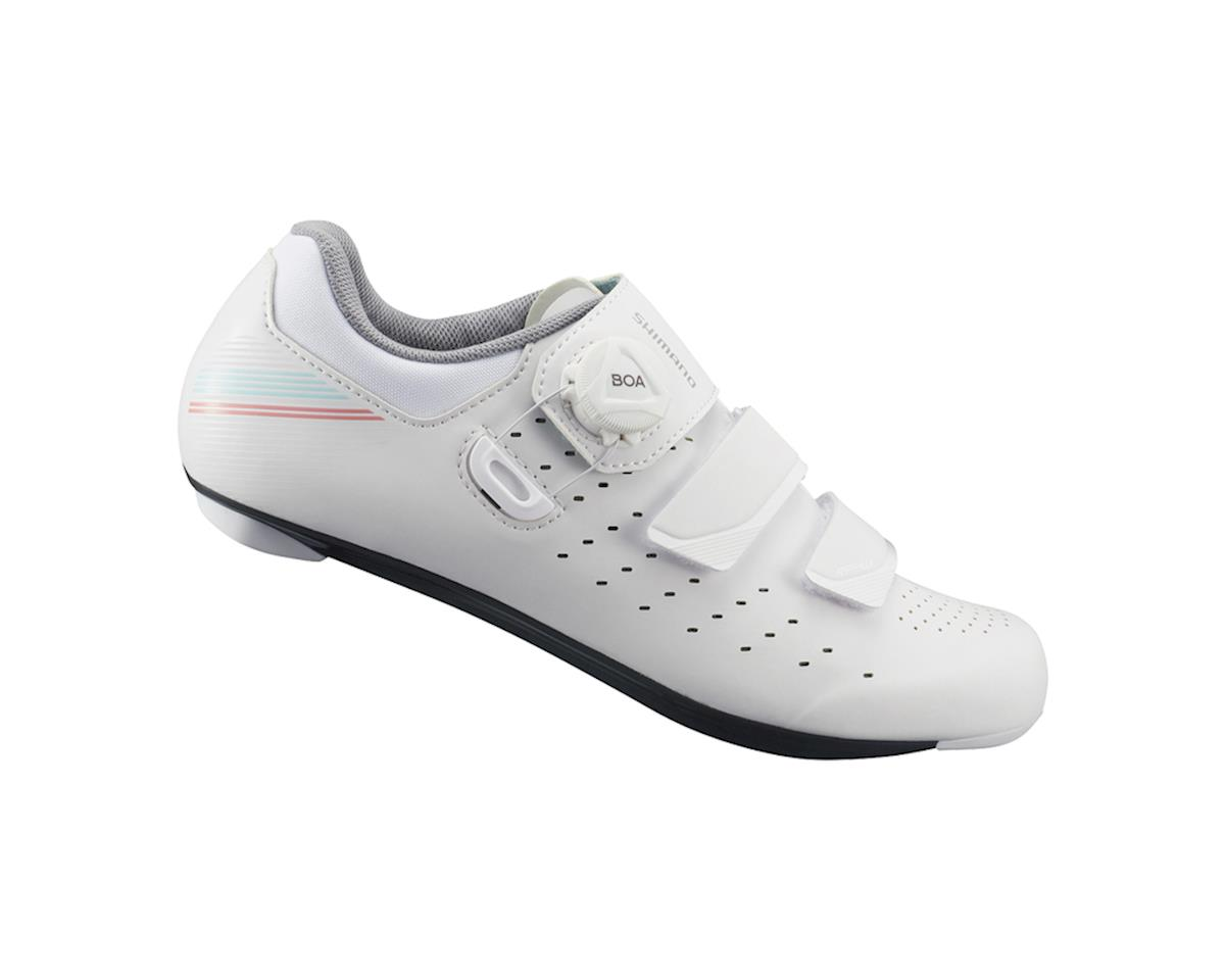 Shimano SH-RP400 Women's Road Bike Shoes (White) (42)