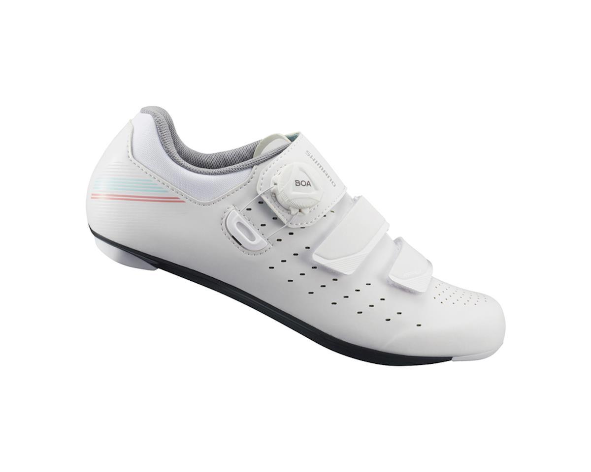 Shimano SH-RP400 Women's Road Bike Shoes (White) (44)