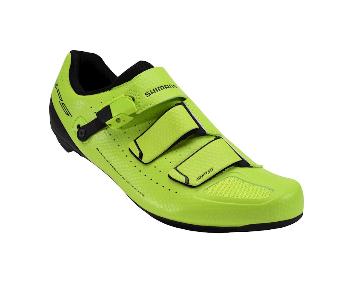 Image 1 for Shimano RP5 Road Shoes - Special Buy (Neon Yellow)