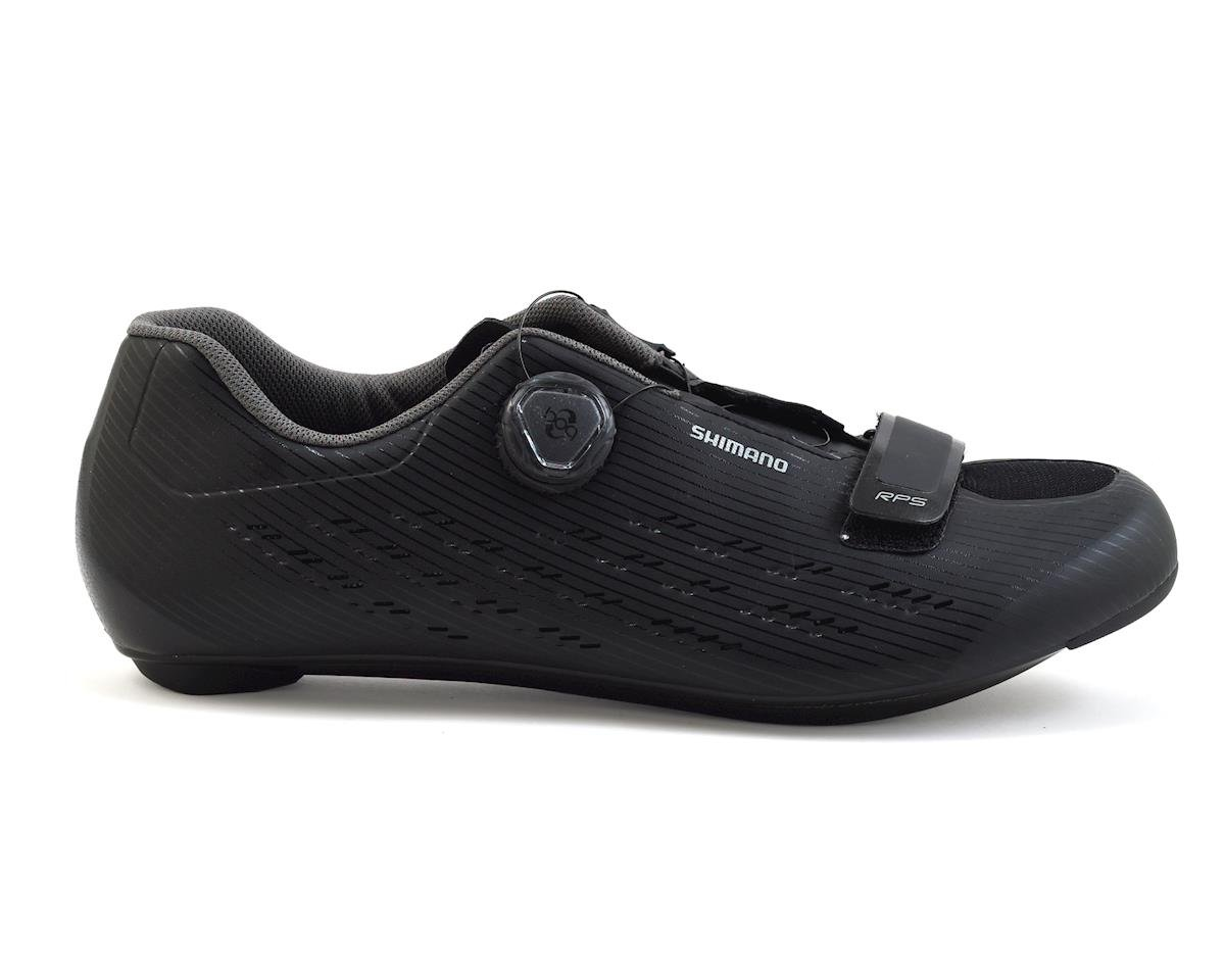 Shimano 2018 SH-RP5 Road Bicycle Shoes (Black) (45)
