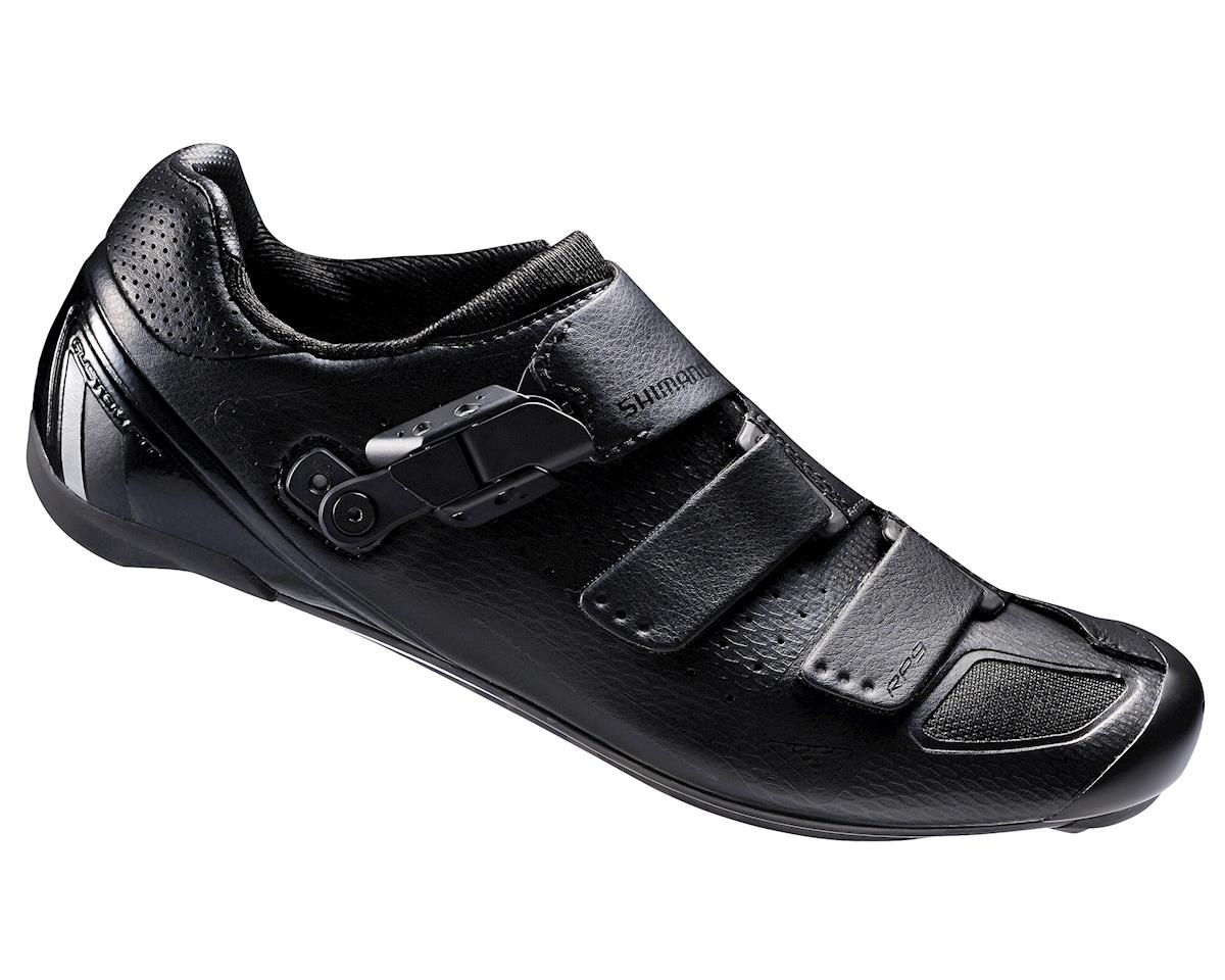 Shimano SH-RP9 Road Bicycle Shoes (Black) (44 Wide)