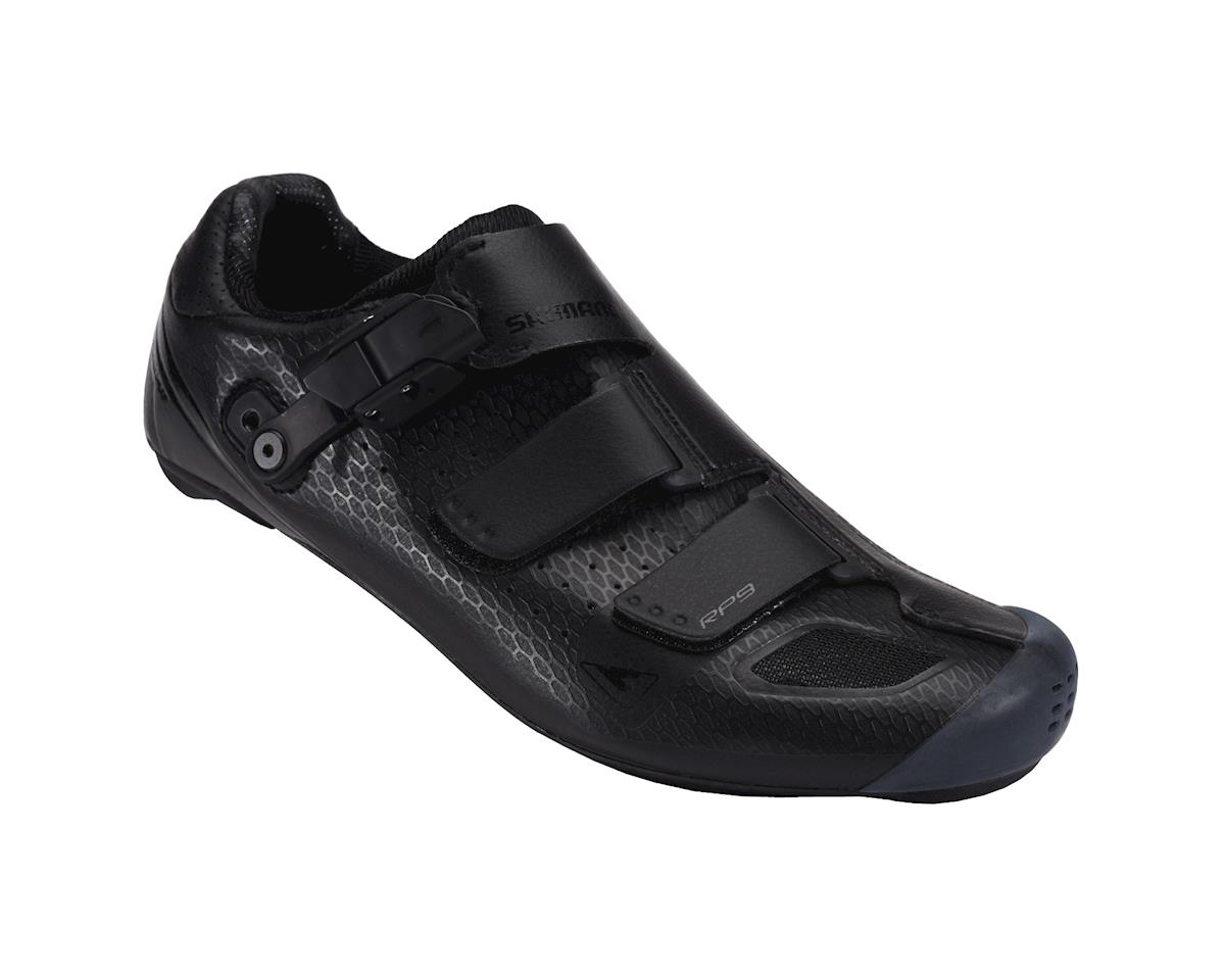 Image 1 for Shimano SH-RP9 Wide Road Shoes (Black)