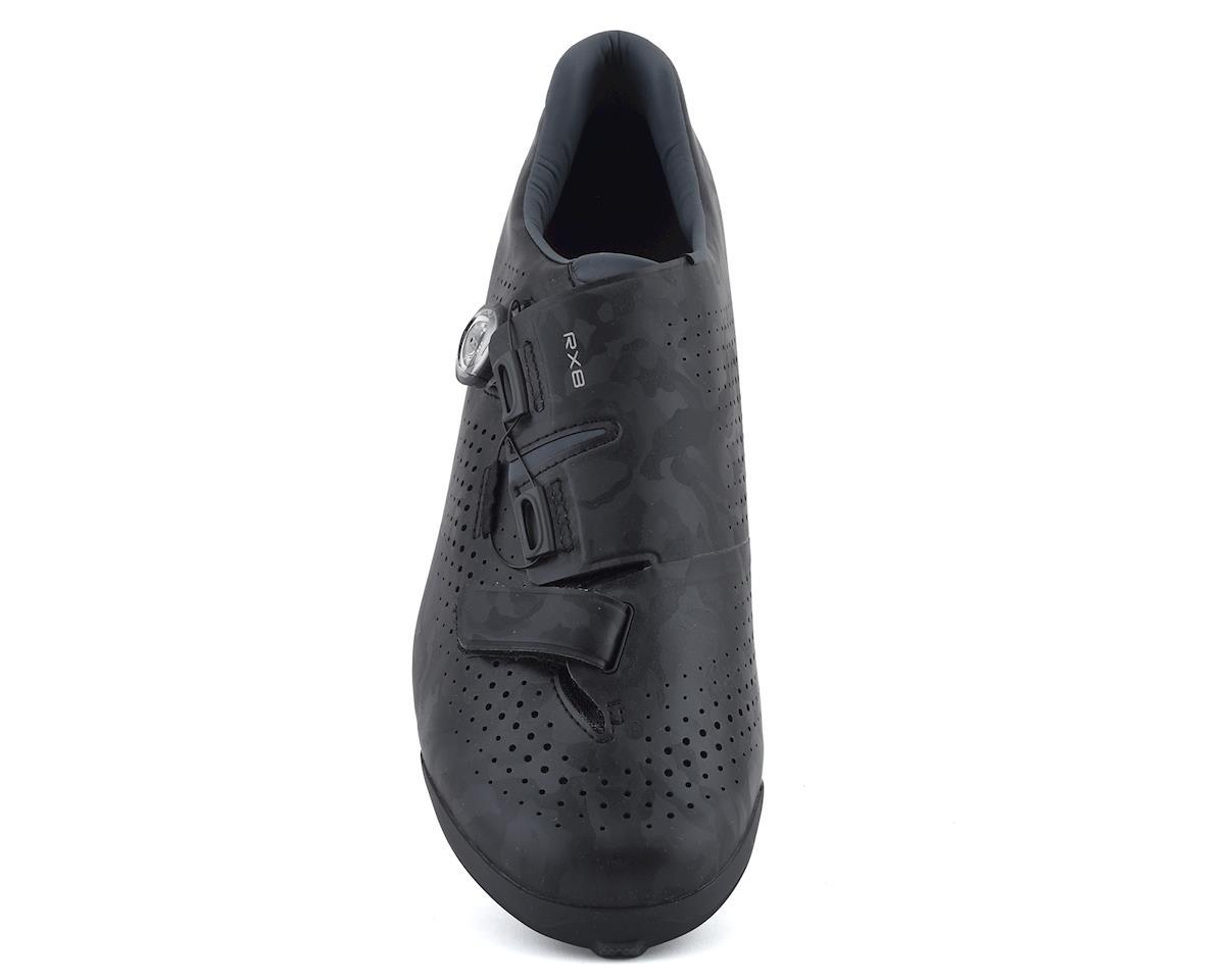Shimano SH-RX800 Gravel Cycling Shoes (Black) (42)