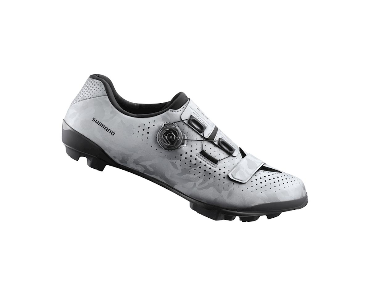 Shimano SH-RX800 Gravel Cycling Shoes (Silver) (46)