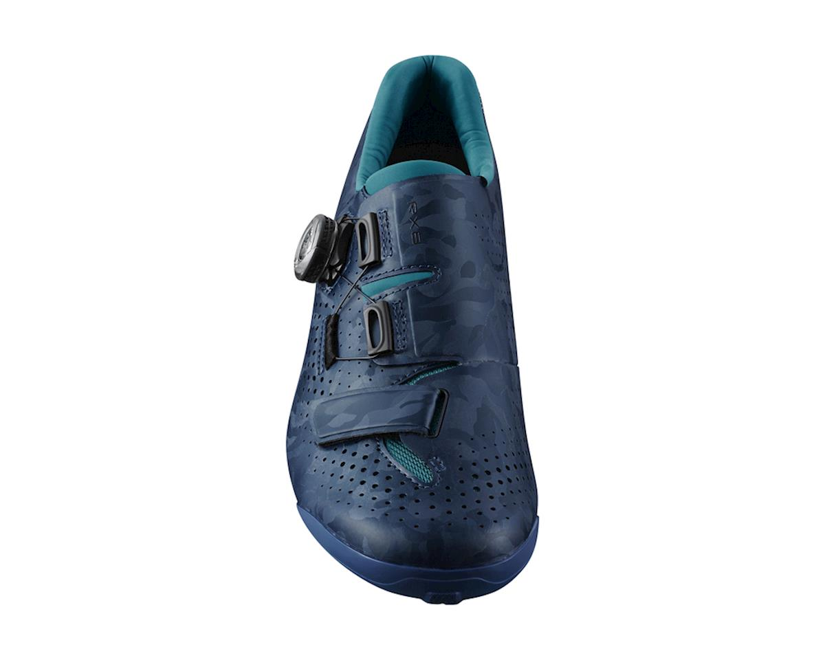 Image 3 for Shimano SH-RX800 Women's Gravel Cycling Shoes (Navy) (37)