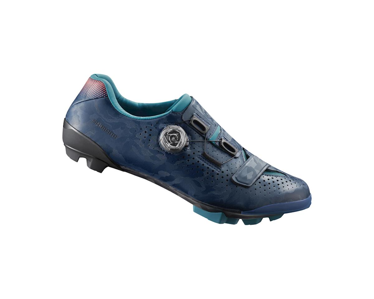 Image 1 for Shimano SH-RX800 Women's Gravel Cycling Shoes (Navy) (44)