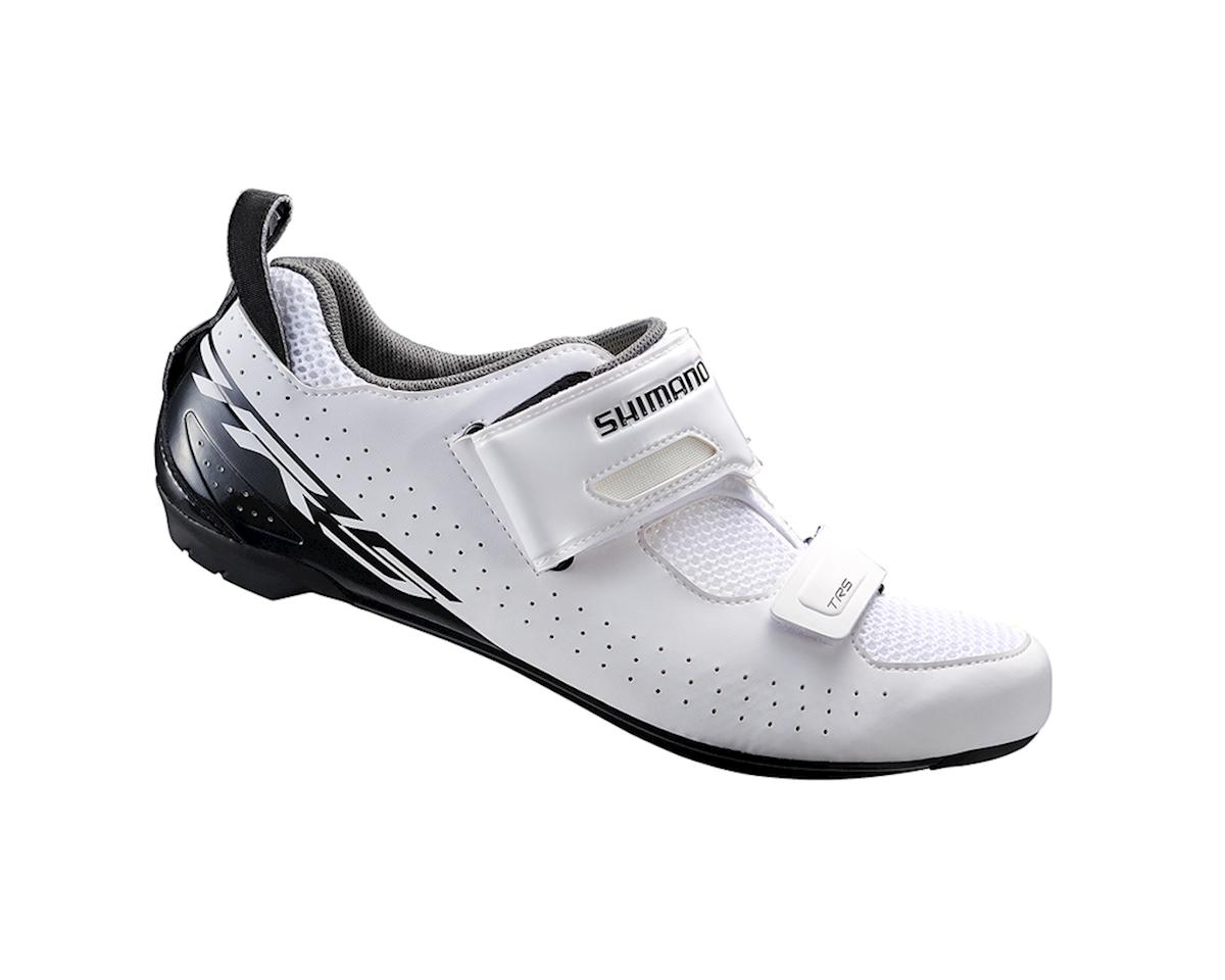 Shimano SH-TR500 Triathlon Shoe (White) (40)