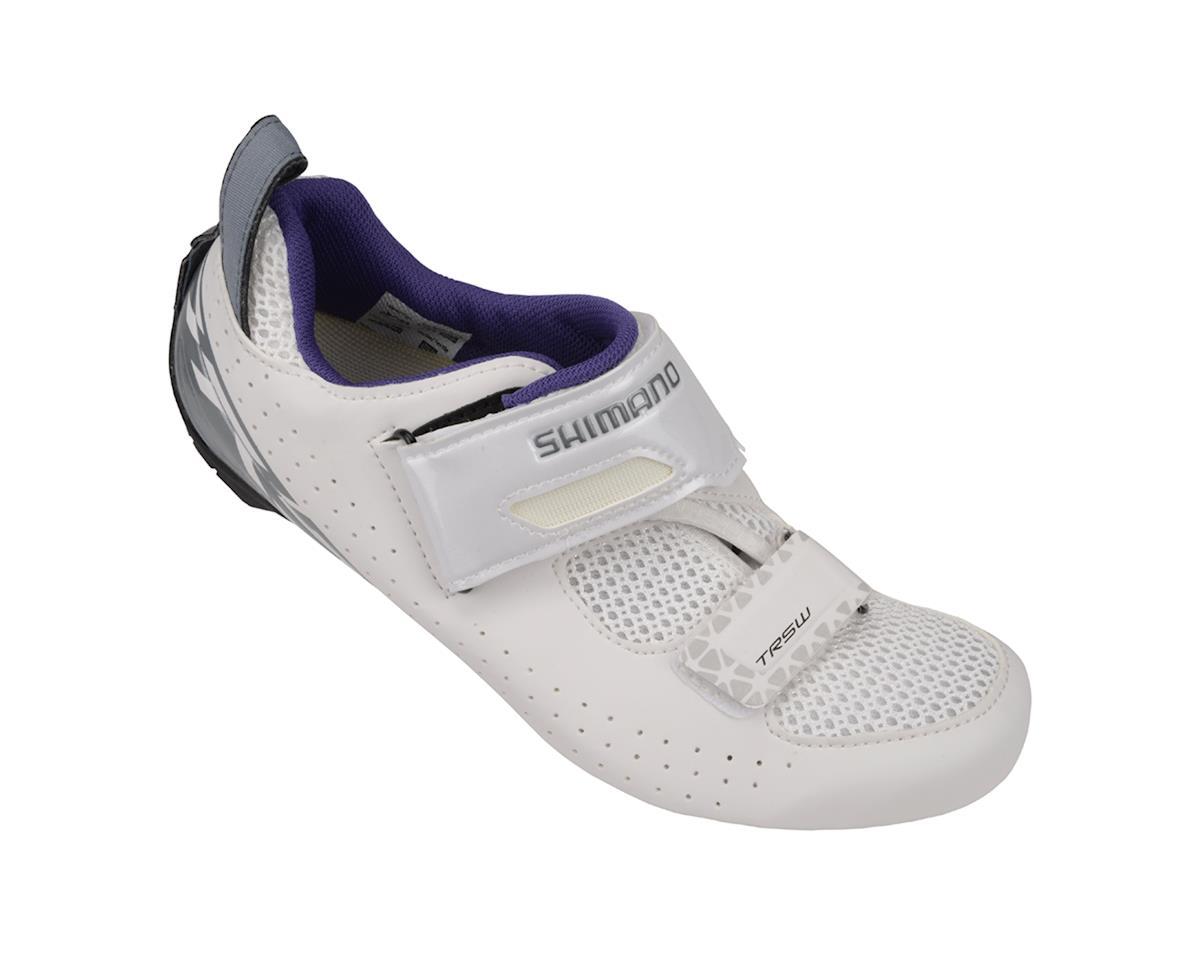 Shimano SH-TR500 Women's Triathlon Shoes (White) (42)