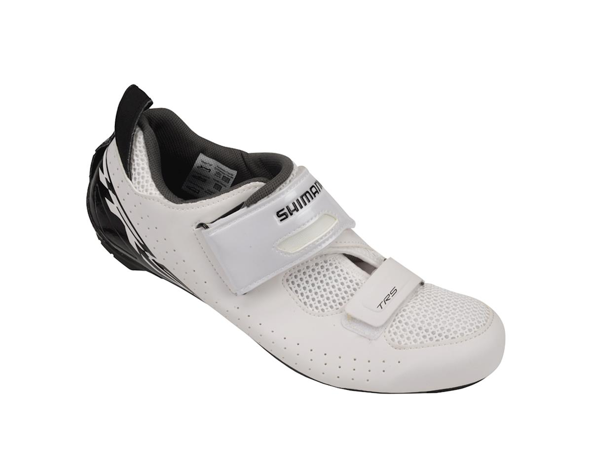 Shimano SH-TR500 Triathlon Shoes (White) (45)