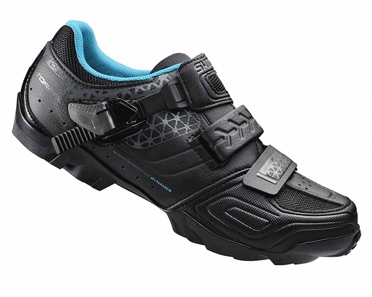 Shimano SH-WM64L Women's Bike Shoes (Black) (38)