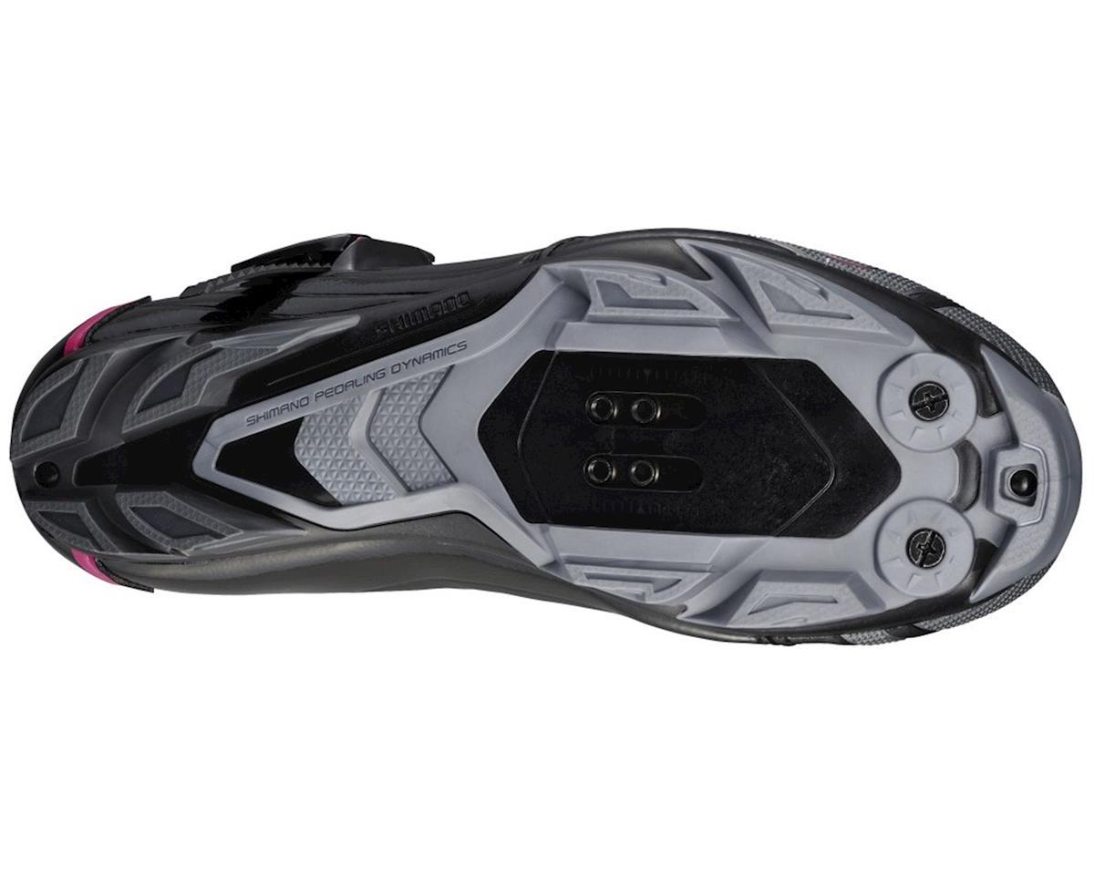 Shimano SH-WM83 Women's Bike Shoes (Black) (40)