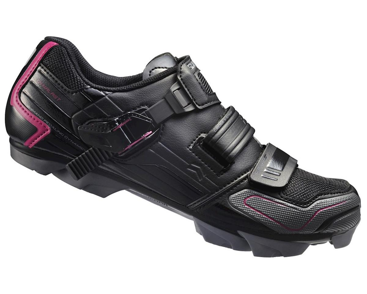 Shimano SH-WM83 Women's Bike Shoes (Black) (42)