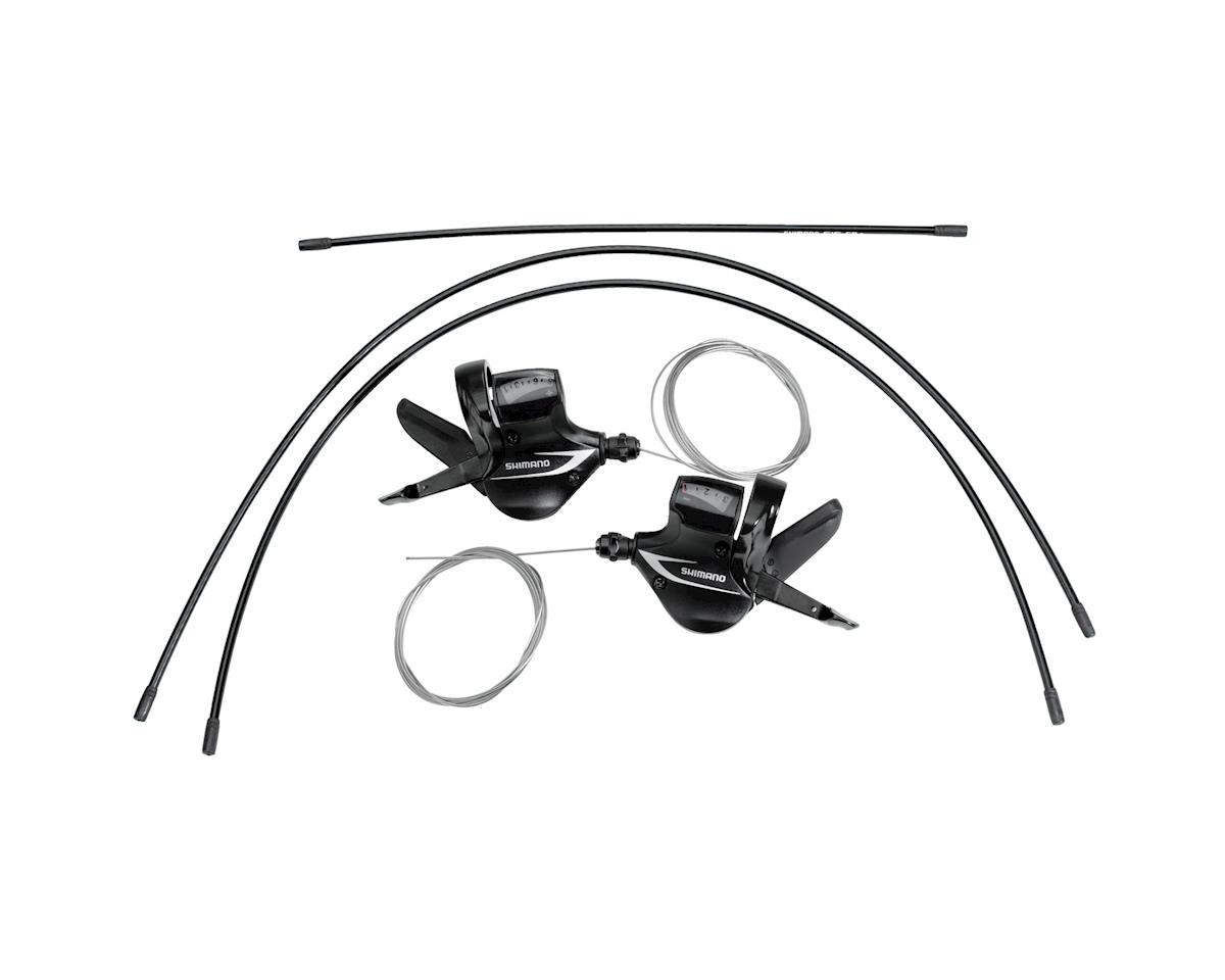 Shimano Acera M360 3x8 Shift Levers (Black)