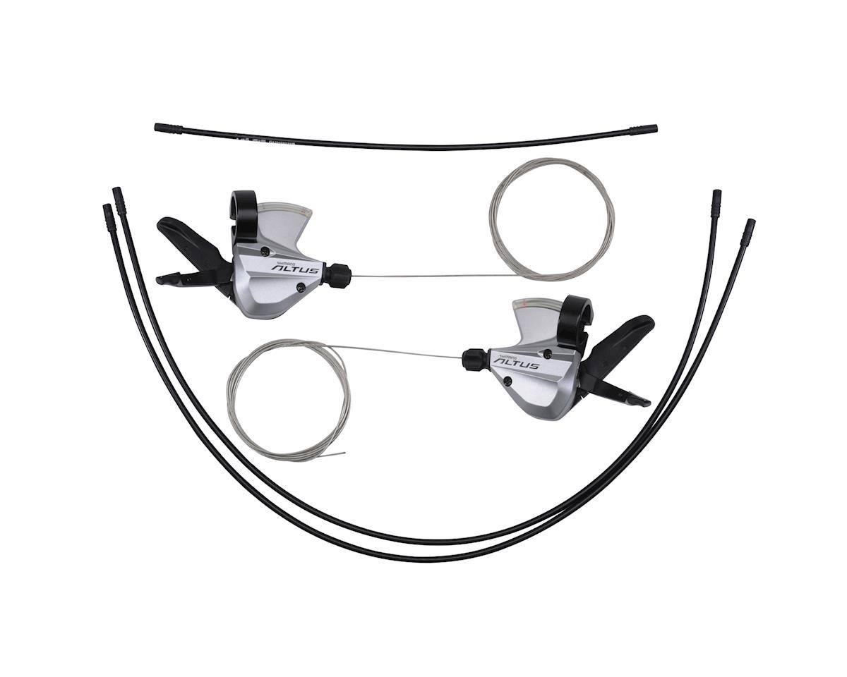 Shimano Altus SL-M370 3x9-Speed Shifter Set (Silver)