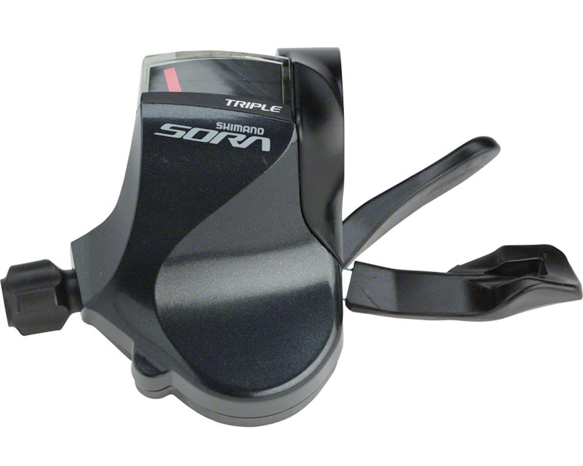 Shimano Sora SL-R3030 3-Speed Flat Bar Road Shifter (Left)