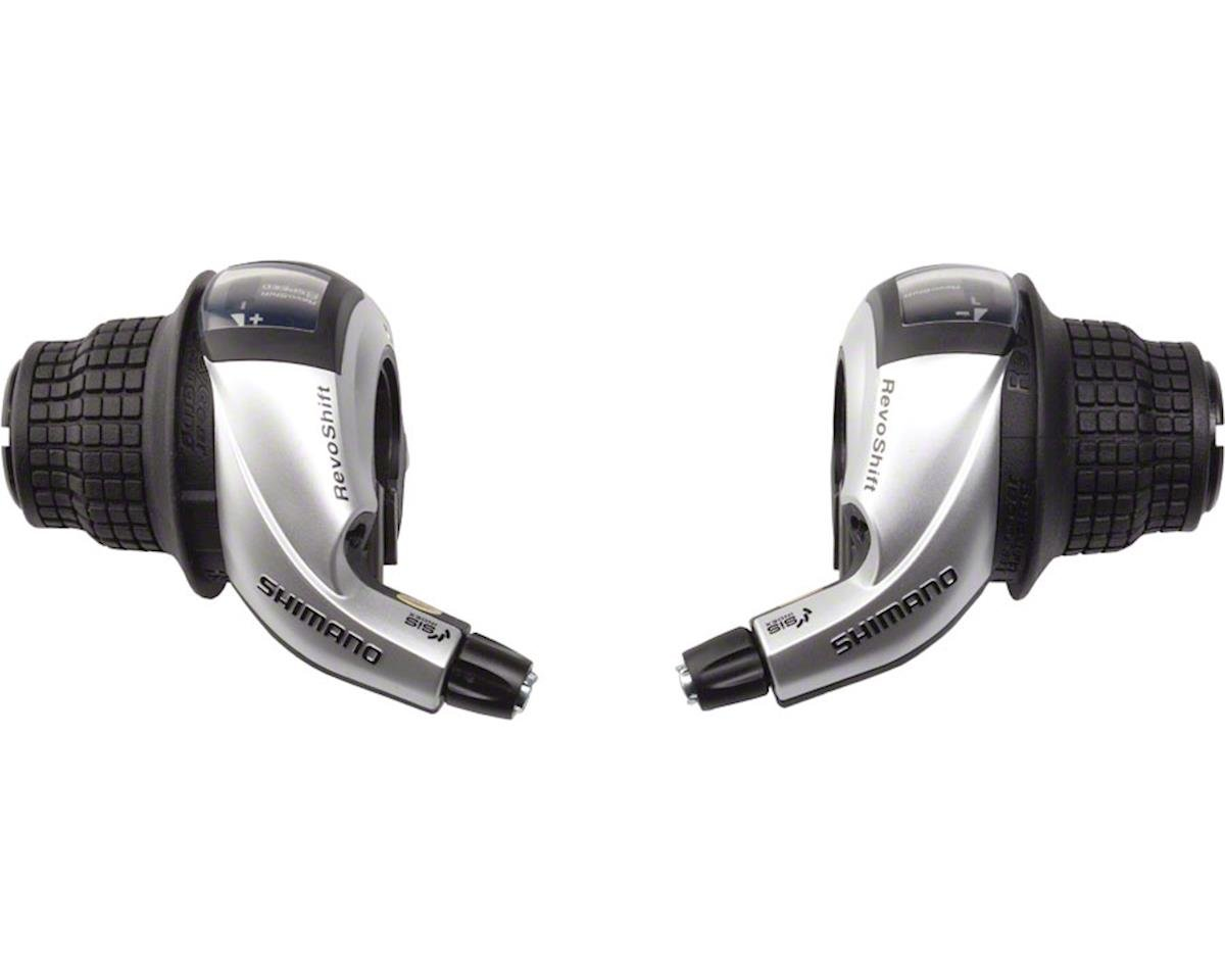 Shimano Tourney SL-RS45 3x8-Speed Twist Shifter Set | relatedproducts