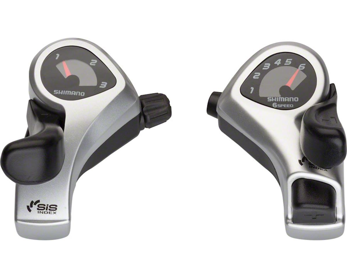 Shimano Tourney SL-TX50 3x6-Speed Thumb Shifter Set