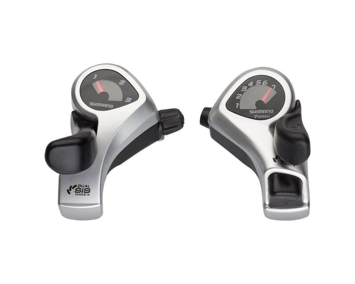 Shimano Tourney SL-TX50 3x7-Speed Thumb Shifter Set