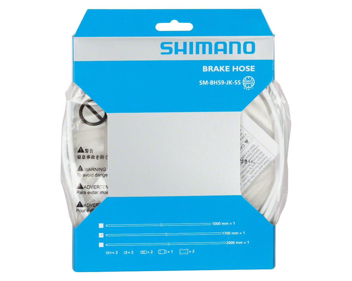 Shimano BH59-JK-SS 1700mm Disc Brake Hose Kit (White)